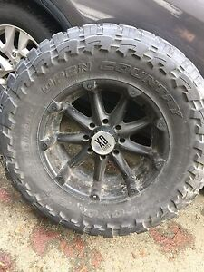Open country toyos on Xd 20s