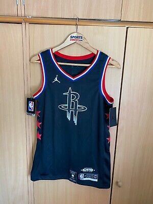Nike Houston Rockets All Star NBA Swingman Jersey Sz Small AQ7295-015 #13 Harden