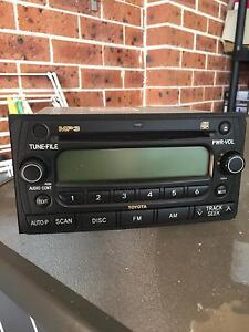 Toyota double din stereo MP3 good condition Liverpool Liverpool Area Preview