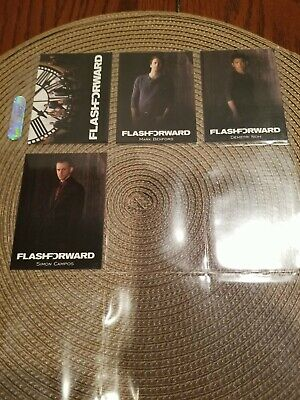 Flash Forward Rittenhouse 2010 Lost Seasons 1 to 5 Complete 4 Card Promo Set QTY