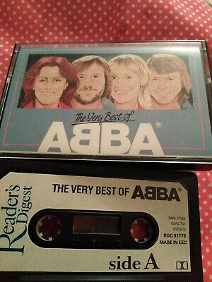 READERS DIGEST CASSETTE, THE VERY BEST OF ABBA ,FREE UK POSTAGE