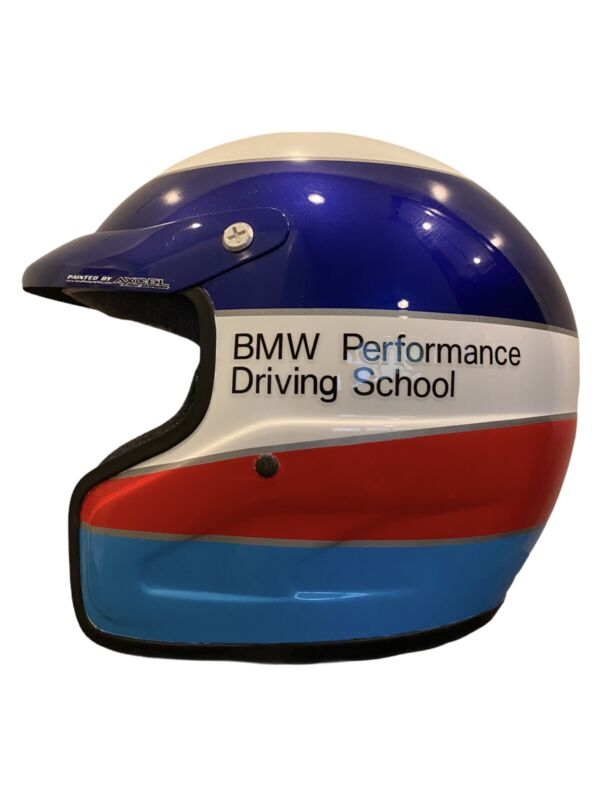 BMW Helmet Rare Performance Driving School Issue IMPACT RACING Painted by Axcel