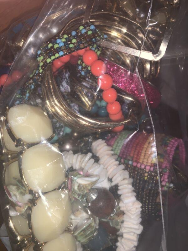 3.5 lbs jewlery Necklace Bracelet Watch grab bag for craft