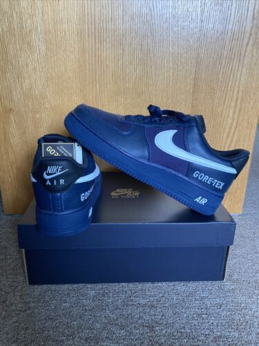 Nike Air Force 1 GTX Men's Shoes Size 9 Obsidian White Black