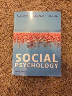Wanted: Social psychology textbook