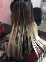 Pure hair extension $300