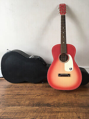 Gretsch Jim Dandy G9500 Acoustic Short Scale Guitar WITH HARD CASE