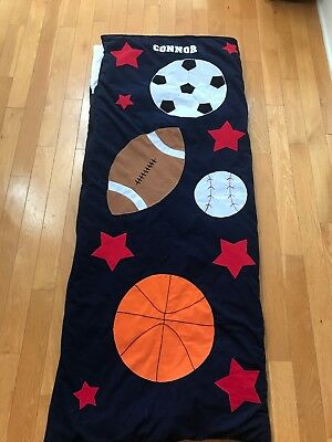 Children Kids Sports (Baseball Basketball Soccer Football) Sleeping Bag CONNOR