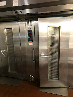 Hobart Natural Gas Hsrog Single Rack Grocery Bakery Roll In Convection Oven