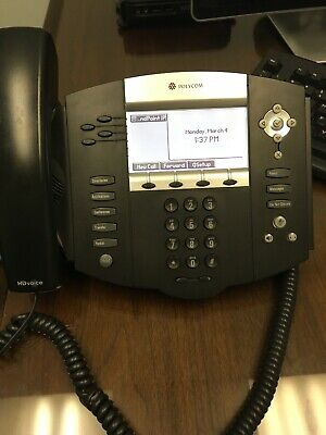 Polycom Soundpoint Ip 550 Sip Voip Desktop Business Digital Phone 2201-12550-001