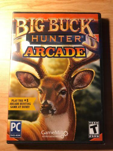 Computer Games - Big Buck Hunter Arcade PC Game Windows Computer Hunting NEW