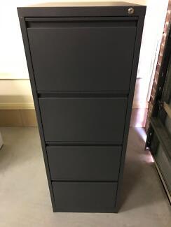 GREY filing cabinet - good quality