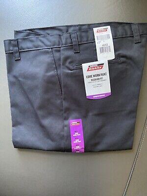 Dickies Work Pants NEW 40 X 32 Black Regular Fit Core Work Pants Free Shipping