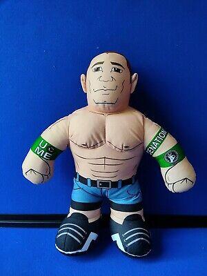"""WWE John Cena Brawlin' Buddies Wrestling Plush Doll 16"""" 2011 Wrestling Event Toy"""