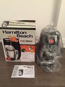 Hamilton Beach Flex Brew - (read AD) 4 coffee makers