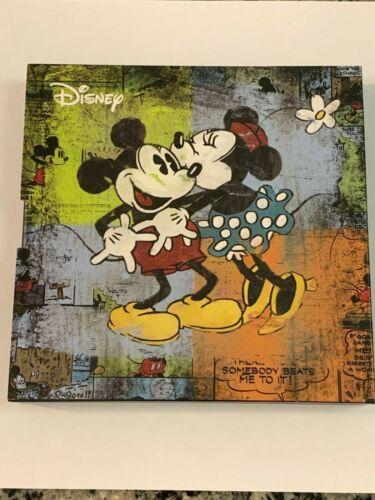 """2017 Mickey & Minnie """"Love"""" 1 oz silver proof coin (w/ box) - NZ Mint - /10,000"""
