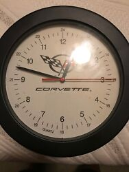 Corvette Wall Quartz Clock