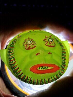 Vintage Halloween 1960s Monster Flashlight Face Eveready