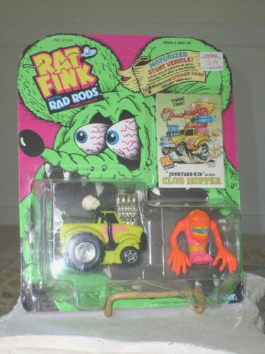 1990 KENNER ED ROTH RAT FINK RAD RODS ~ JUNKYARD KID in CLOD HOPPER ~ NOC