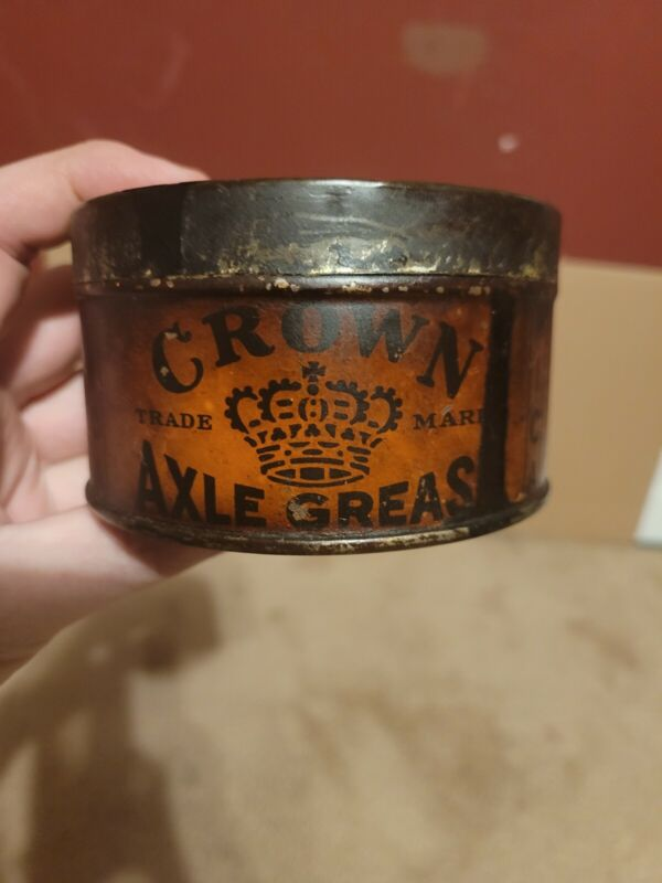 Early Crown Axle Grease Can