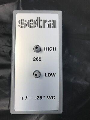 Setra Differential Pressure Transducer 265 Series