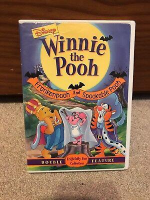 Winnie The Pooh Halloween Movies (DISNEY - Winnie the Pooh - Frankenpooh and Spookable Pooh Halloween (DVD,)
