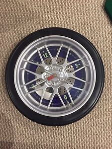 Tire Clock for the Wall
