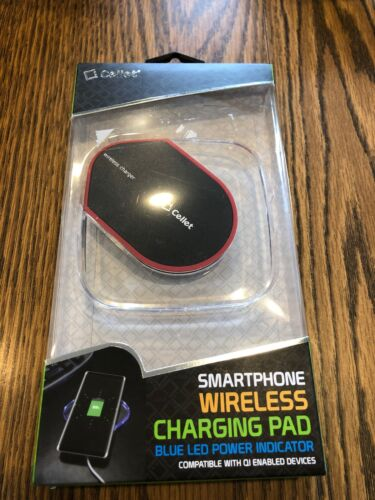 Cellet QI Wireless Charging Pad With LED Plower Indicator, B