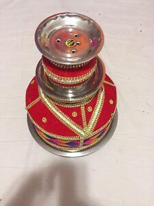 Wedding accessory phulkari jago kirpan pagri chura kalgi sehra