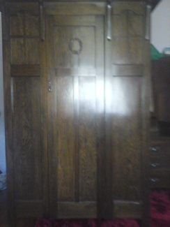 WARDROBE SOLID WOOD MADE IN 1920