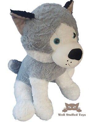 """Extra Large Husky Plush Soft Toys 70cm 28"""""""