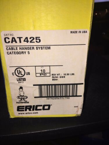 Erico Caddy CAT# 425 Box of 10 - # 425 Adjustable Cable Support Hanger cat5