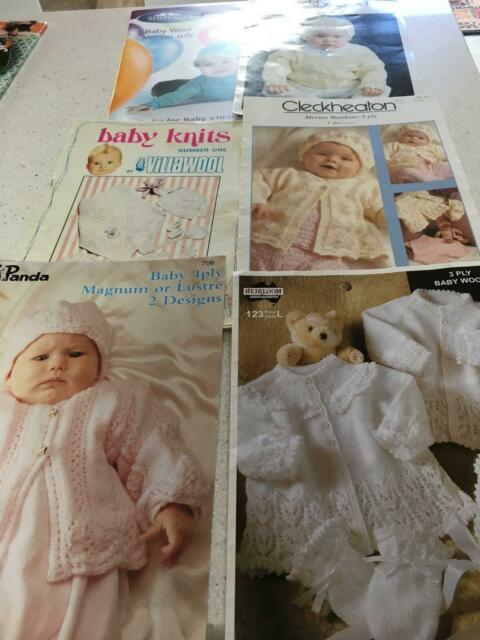 25387d62e70d Assorted knitting pattern books   leaflets for babies