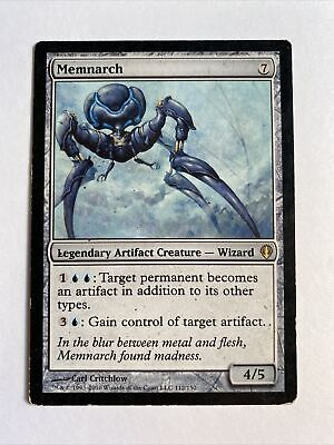 MTG Card Memnarch Darksteel PLD Rare Legendary Creature, Colorless
