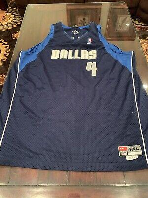 VTG NIKE TEAM SPORTS DALLAS MAVERICKS MICHAEL FINLEY NBA #4 XL Basketball Jersey