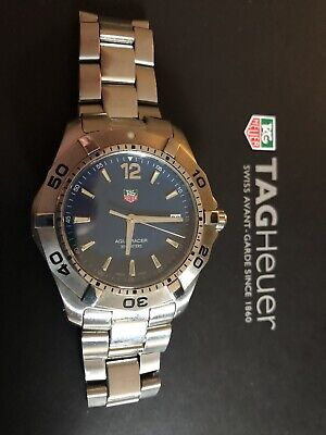 TAG Heuer Aquaracer WAF1113 (Blue) Used (Good Condition). No Box Or Papers.
