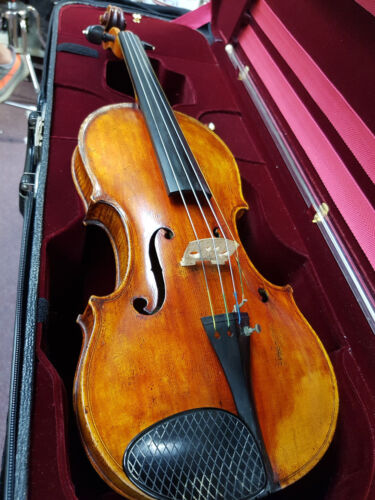 Great Condition! Vintage Violin Attributed to Georg Klotz Mittenwald