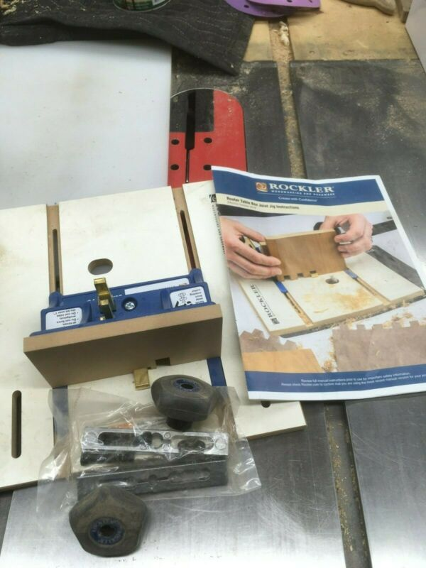 Rockler Router Table Box Joint Jig No box - used once