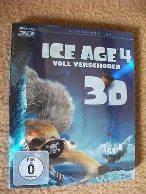 Ice Age 4 Blu ray 3D Neu  Und Originalverpackt gebraucht kaufen  Ofterdingen