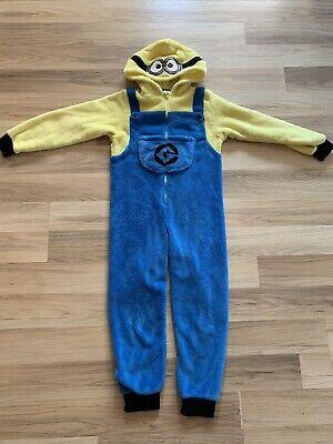 H&M - Minion Kostüm / Overall - Gr.122/128