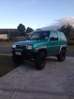 1996 Daihatsu feroza limited up for swaps  Cashmere Pine Rivers Area Preview