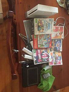 wii console + extras Mile End West Torrens Area Preview