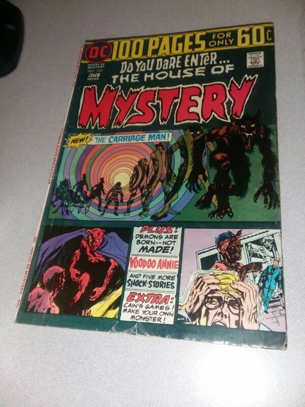 HOUSE OF MYSTERY # 227 GIANT 100 Pg DC Horror comics! Bronze age secrets classic