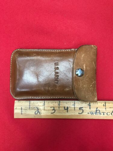 U.S. ARMY Vintage Fold Magnifying Glasses - Case included