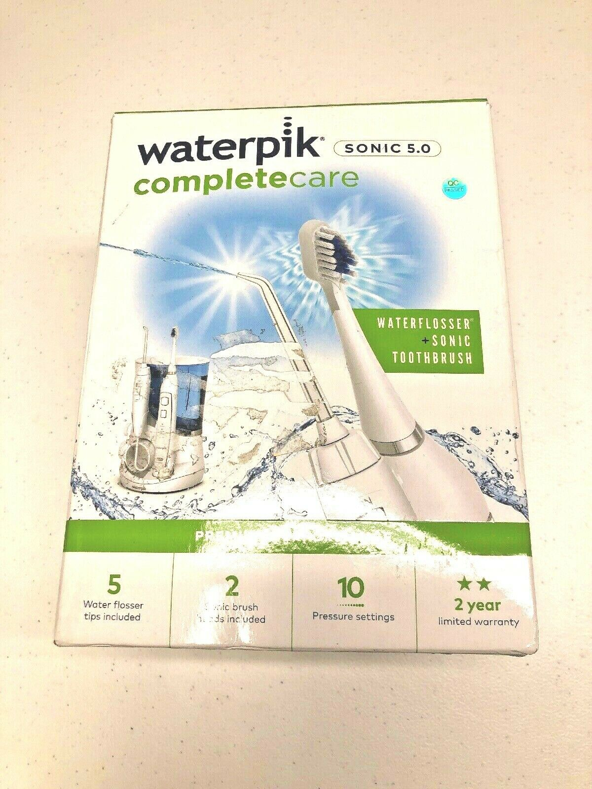 Waterpik WP-861 Complete Care 5.0 Water Flosser and Electric