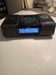 iHome iH9 Clock Radio For Vintage iPod Speaker Alarm No Remote