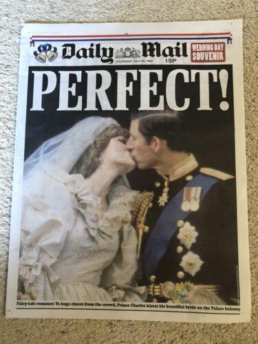 Princess Diana Royal Wedding Supplement Daily Mail 12 May 2018 New