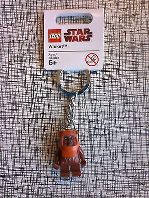 Lego Star Wars Wicket The Ewok Figure Keychain New With Tags 852838