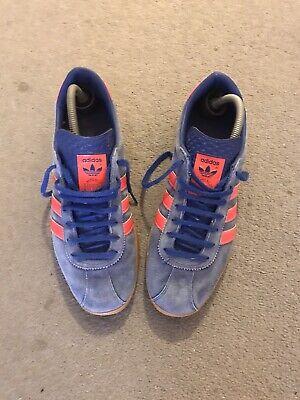 Original adidas Dublin trainers size 8