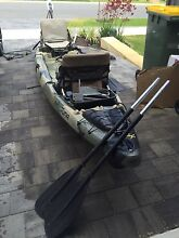 Jackson Big Tuna 2 person fishing kayak with motor Landsdale Wanneroo Area Preview